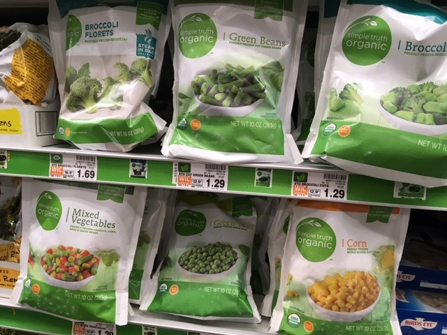 organic frozen veggies