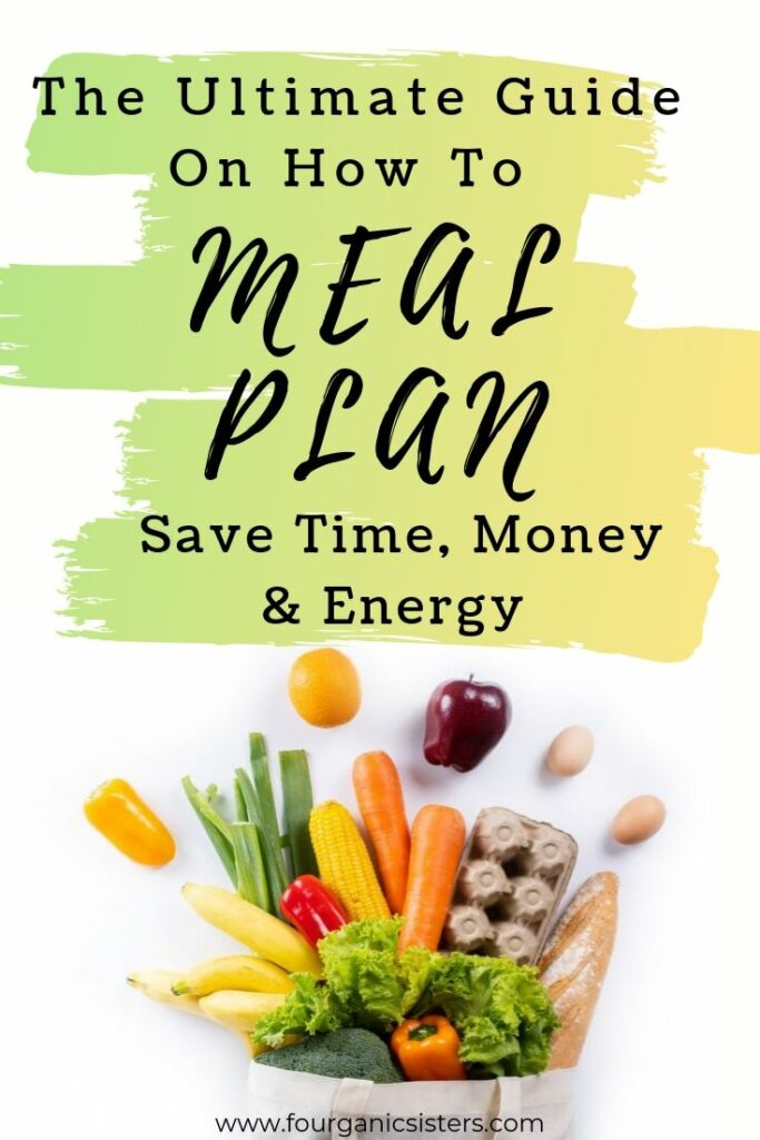 fourganic sisters how to meal plan