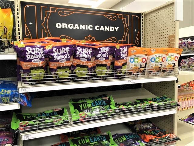 healthy Halloween candy options Fourganic Sisters