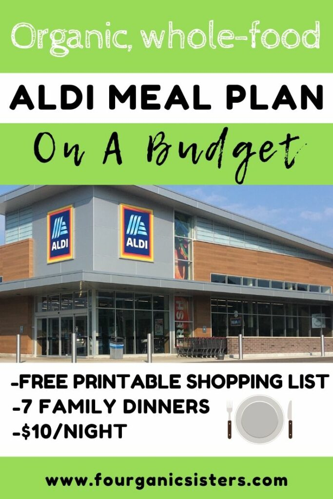 Fourganic Sisters healthy aldi meal plan