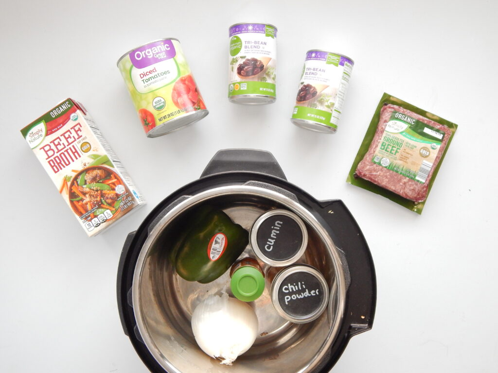 Instant Pot Chili   Fourganic Sisters