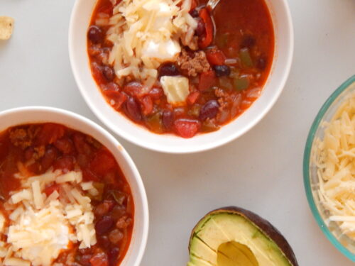 Instant Pot Chili | Fourganic Sisters