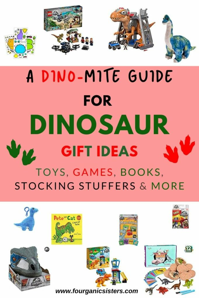Dinosaur Gift Ideas | Fourganic Sisters