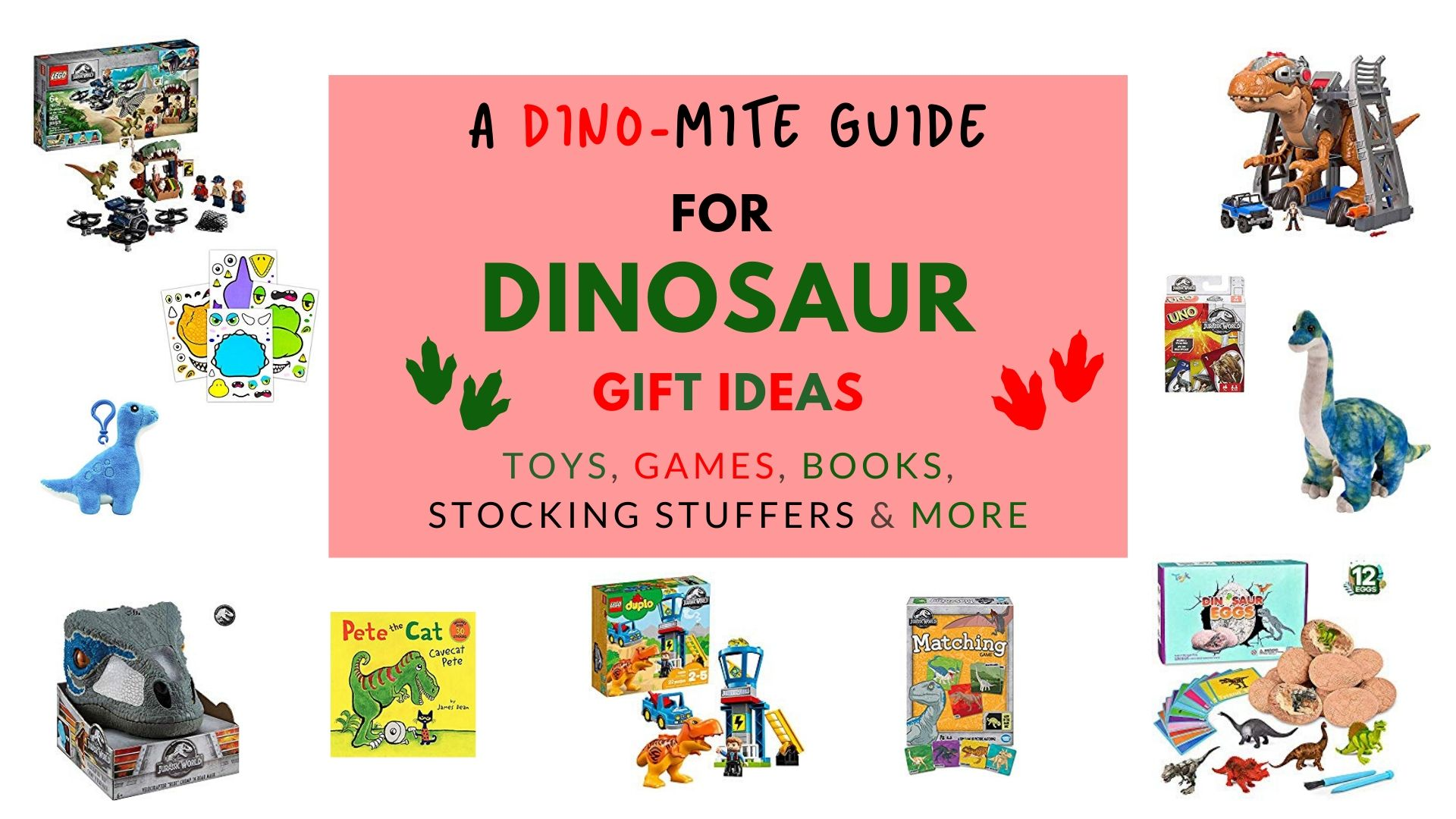 Fourganic Sisters dinosaur gift ideas