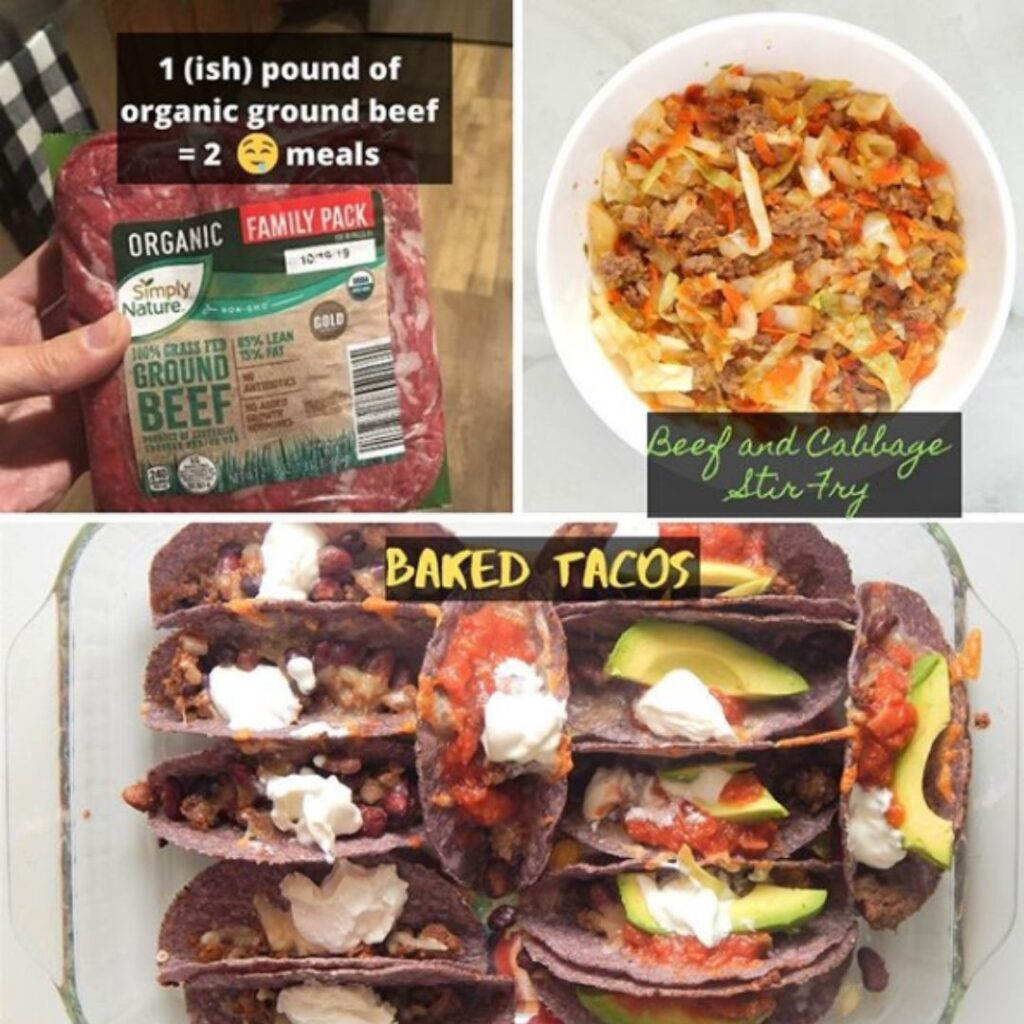Make Your Meat Stretch (Grocery Budget Tips) | Fourganic Sisters