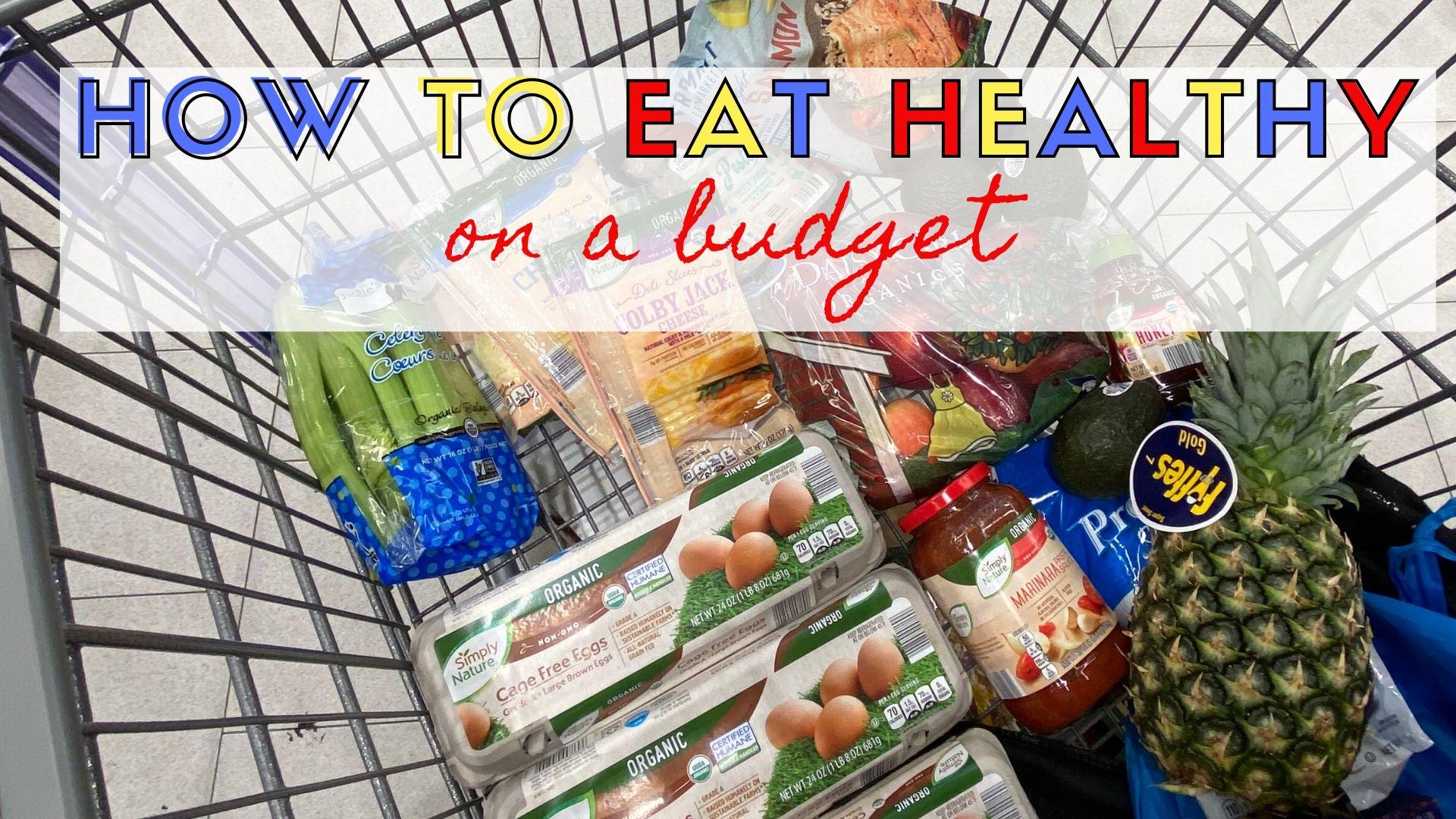 how to eat healthy on a budget | Fourganic Sisters