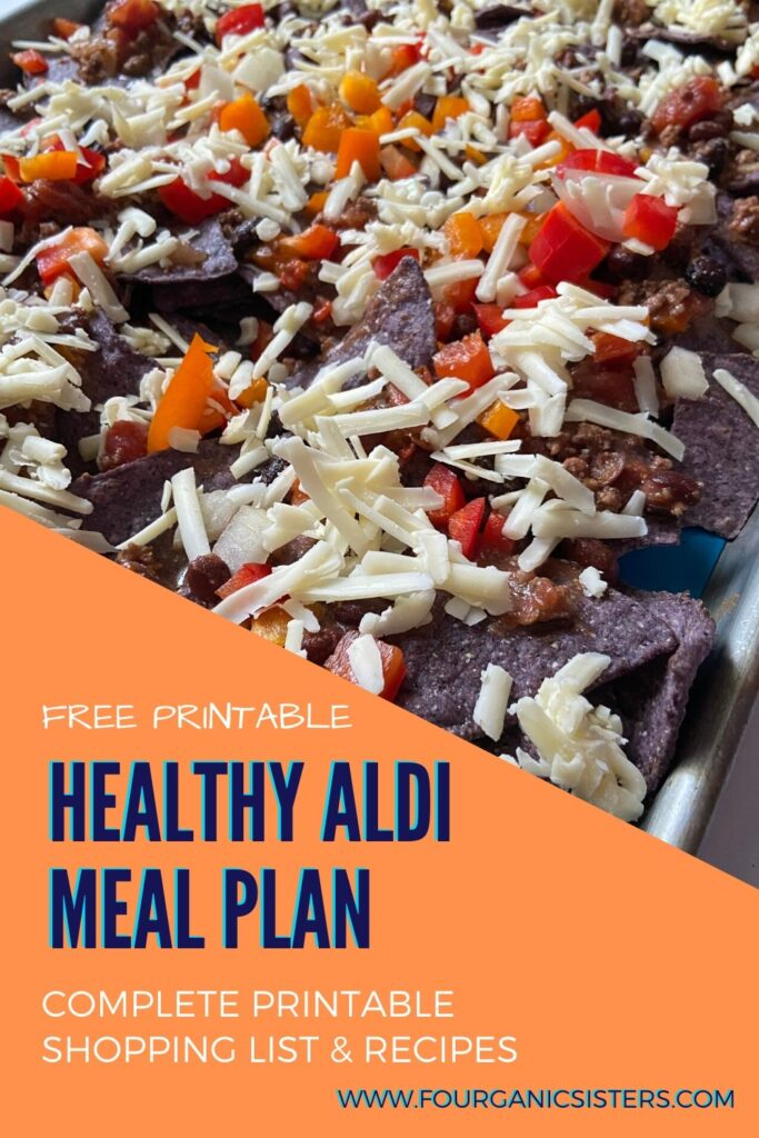 Free Healthy Aldi Meal Plan | Fourganic Sisters