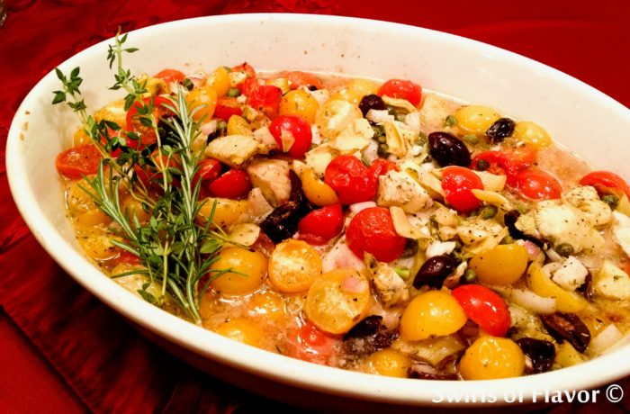 Smothered Tilapia (Fish Recipes for Lent | Fourganic Sisters