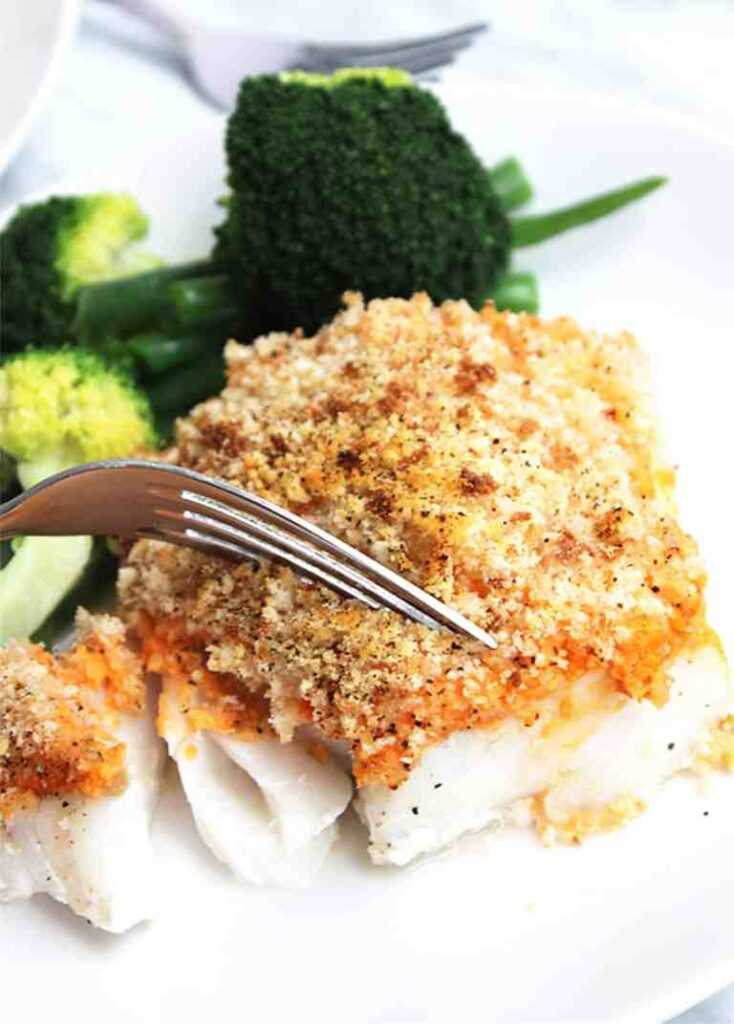 Baked Cod (Fish Recipes for Lent) | Fourganic Sisters