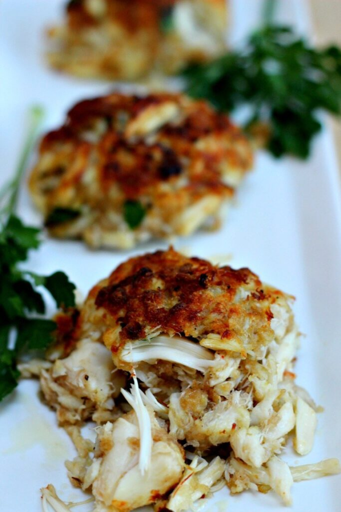 Crab Cakes (Seafood Recipes for Lent | Fourganic Sisters