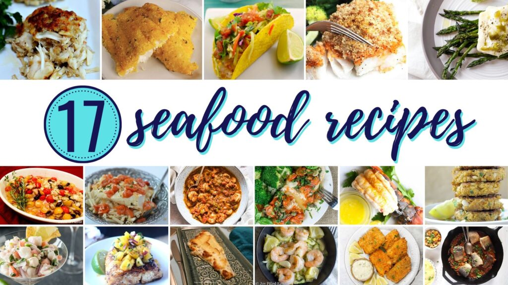 Seafood Recipe Roundup | Fourganic Sisters