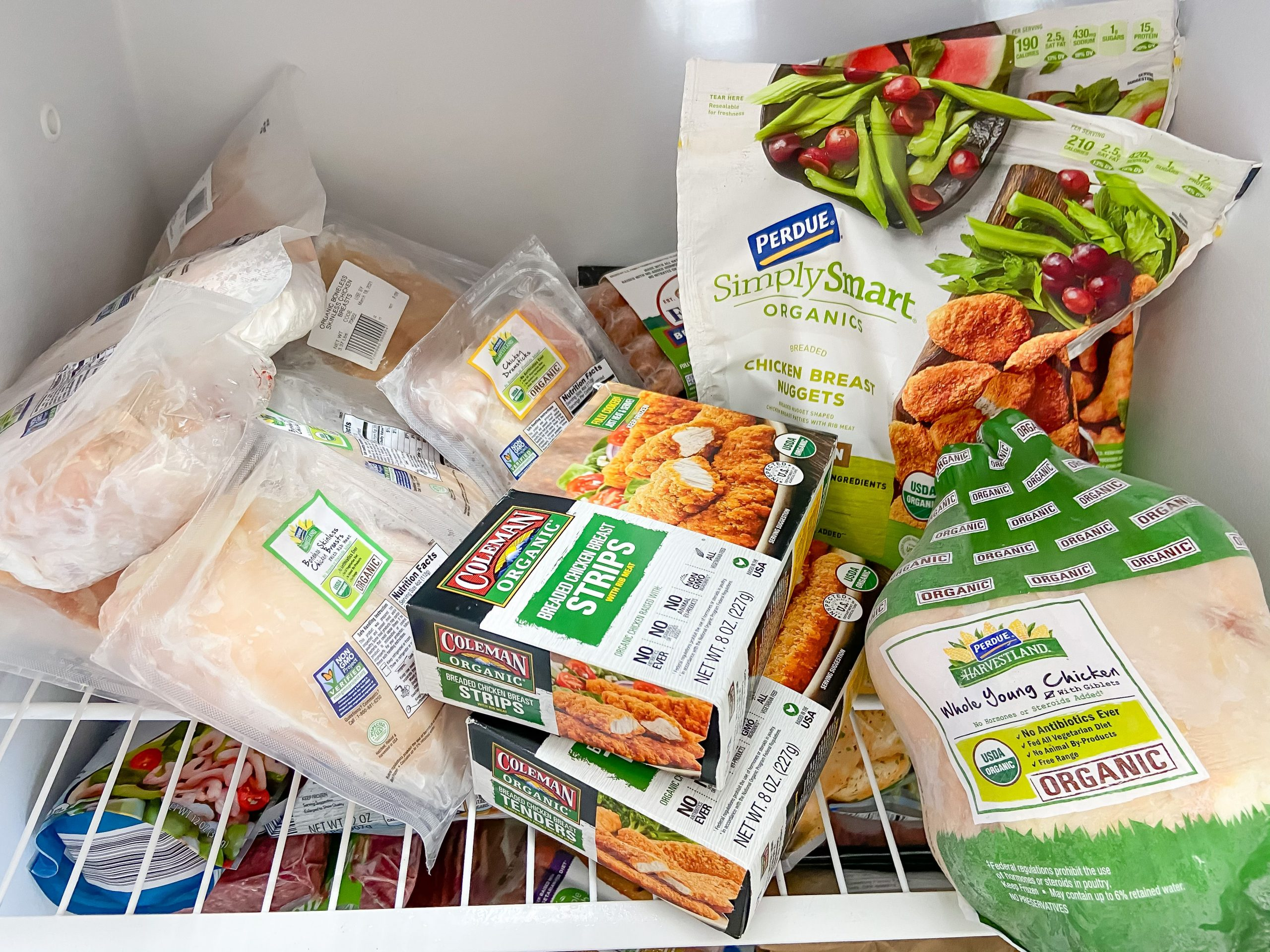 Perdue Farms reviews (freezer stocked with Perdue Farms products)