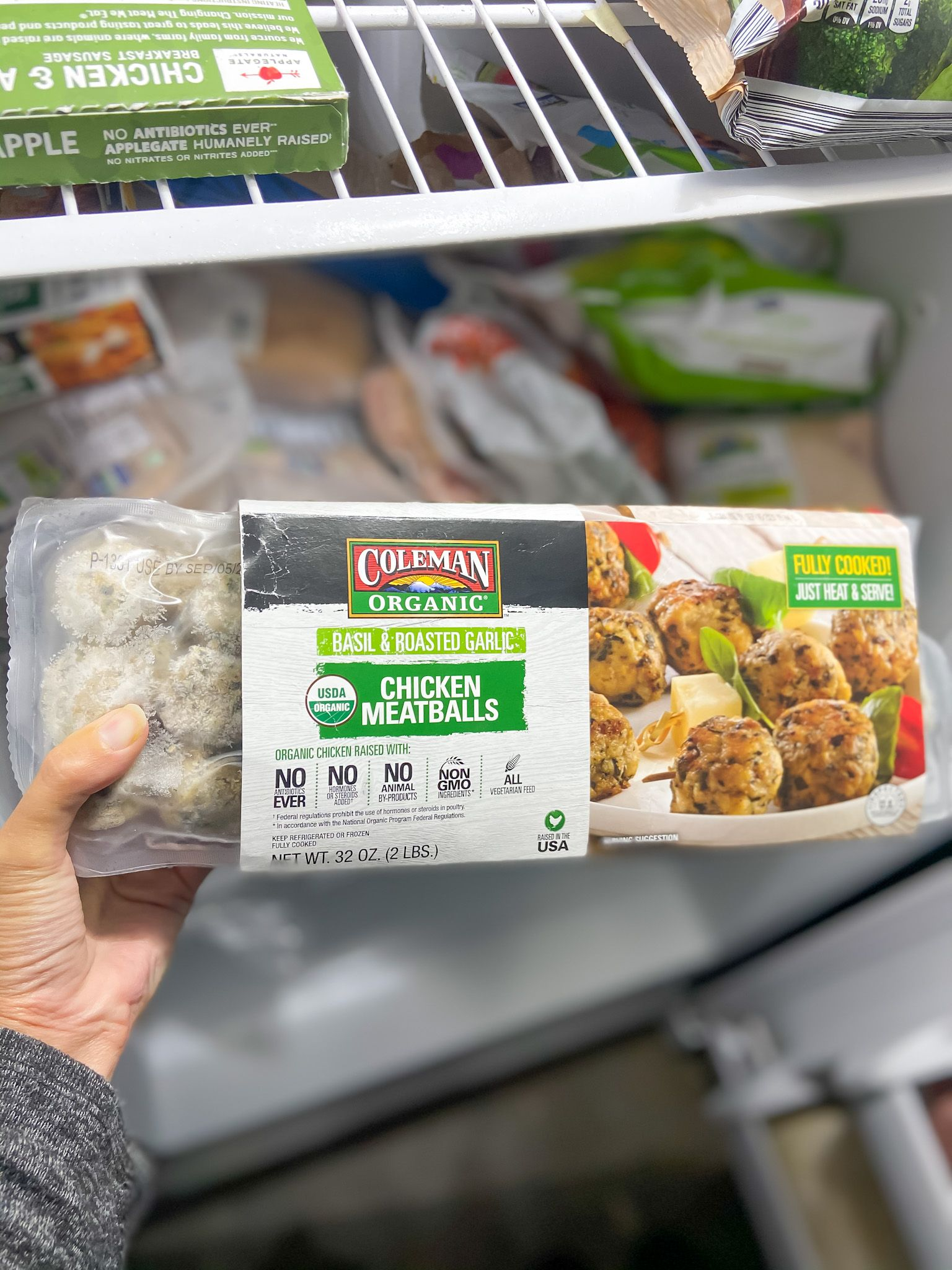 Perdue Farms review organic chicken meatball (2-pound frozen package)