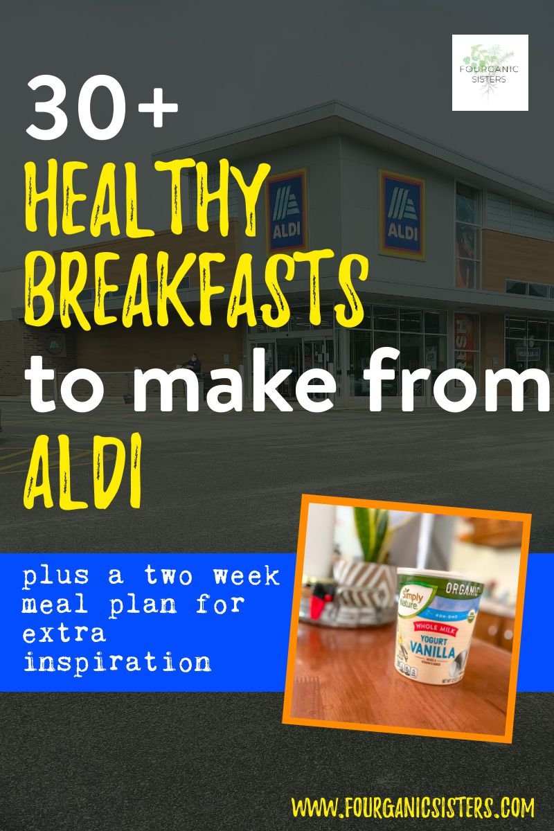 Healthy Breakfasts from Aldi | Fourganic Sisters
