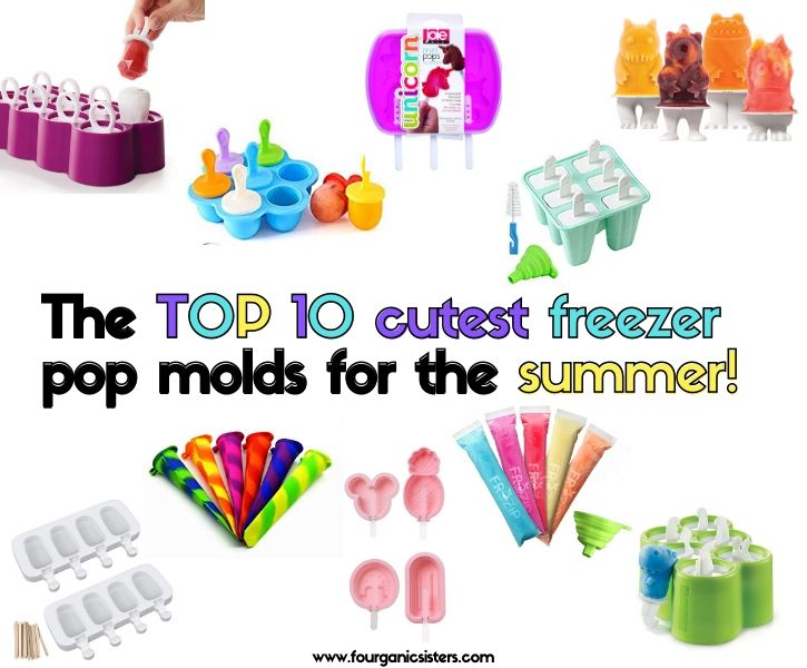 Best Freezer Pop Molds | Fourganic Sisters