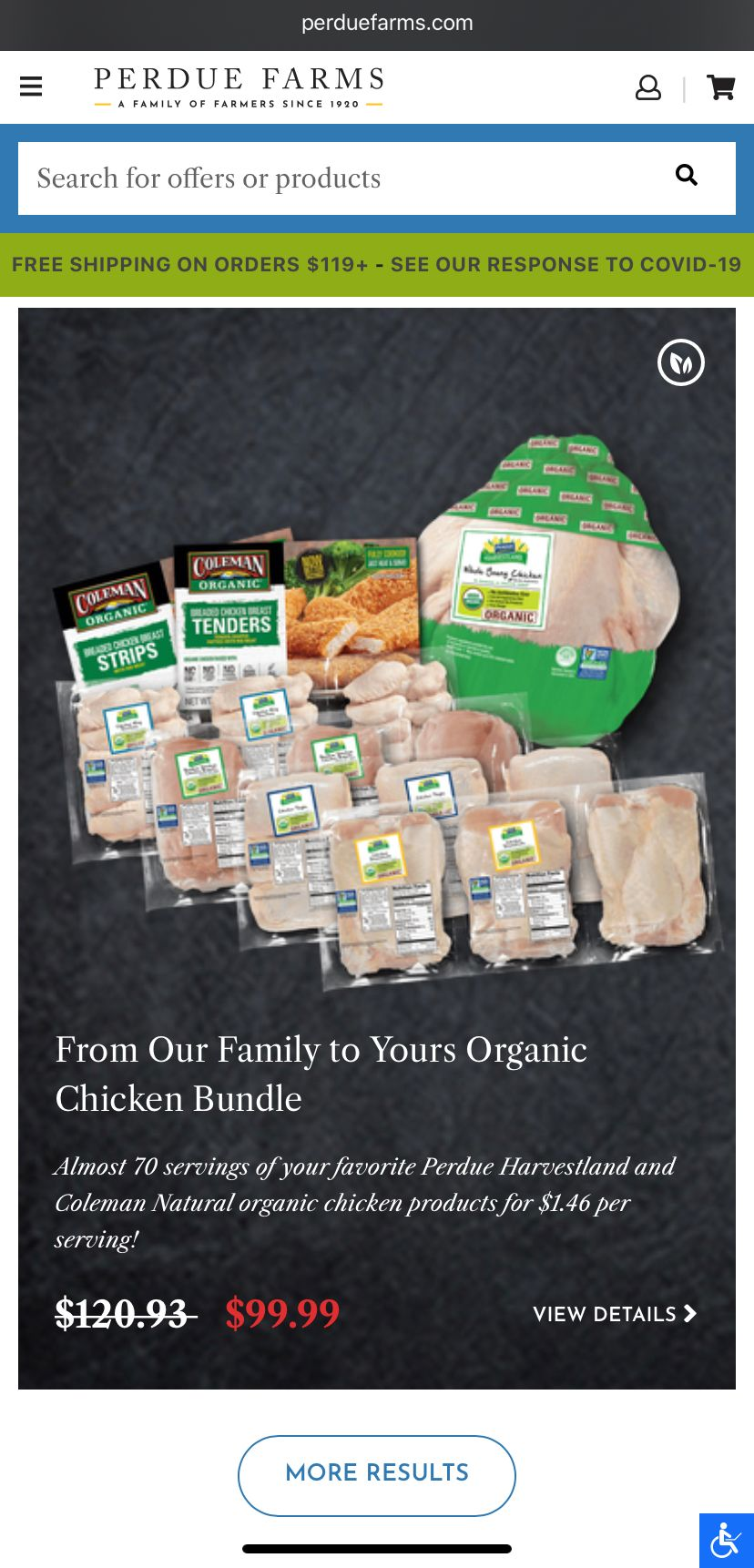 Perdue Farms review online shopping | Fourganic Sisters