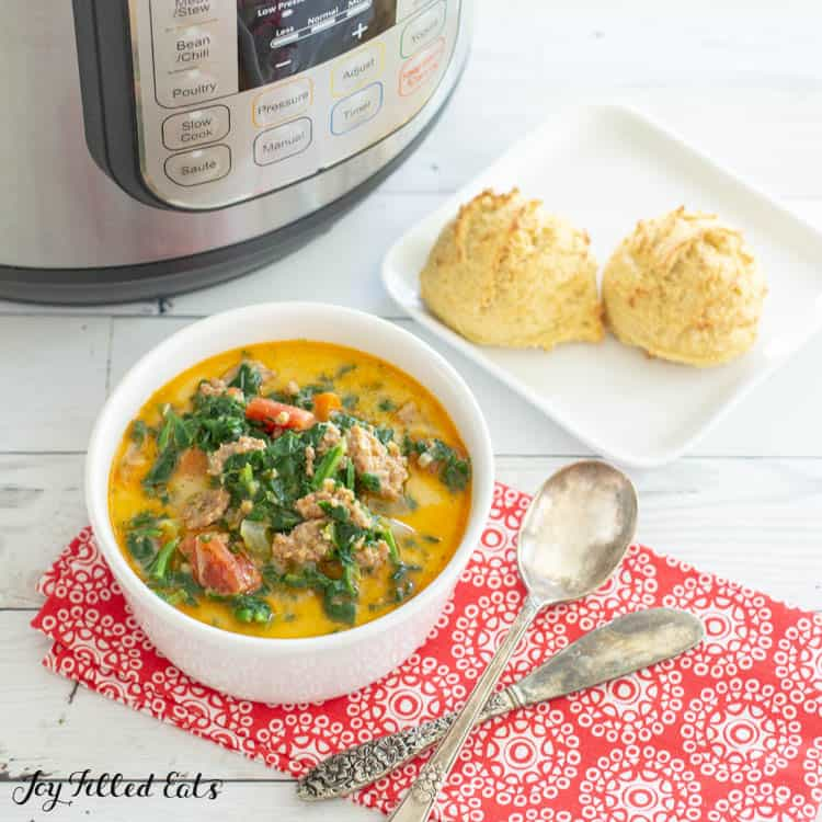 Quick and Easy Instant Pot Soup Recipes-zuppa toscana