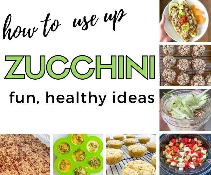 How to Use up Zucchini | Fourganic Sisters
